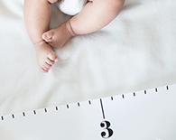 [아이 성장진단] 키와 몸무게를 또래와 비교해보세요.