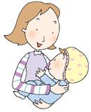 신생아 영양- 모유 먹이기
